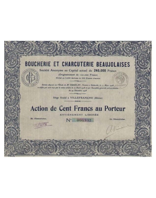 Boucherie et Charcuterie Beaujolaises