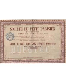 Sté du Petit Parisien