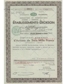 Dickson Constant S.A. Tissages Traitements Enduction et Confection