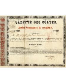 Gazette des Cultes