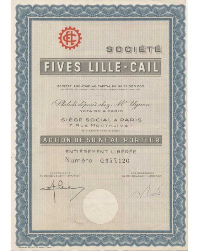 Sté Fives Lille - Cail