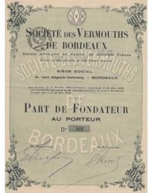 Sté des Vermouths de Bordeaux