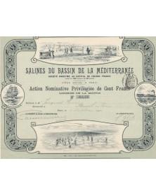 Salines du Bassin de la Méditerranée