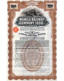 The Manila Railway Co. (1906) Ltd