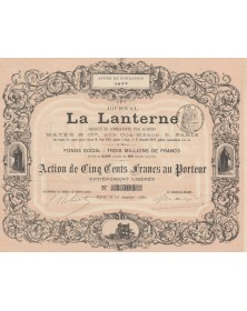 Journal La Lanterne