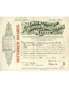 Premier (Transvaal) Diamond Mining Company Ltd
