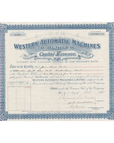 Western Automatic Machines Ltd.