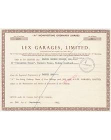 Lex Garages, Ltd