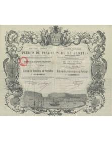 Navigation Sté Générale du Port de Pasajes (Guipuzcoa)