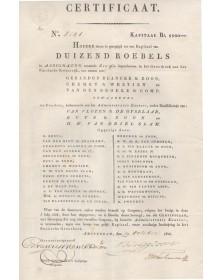 Certificat-Assignats pour le Tsar