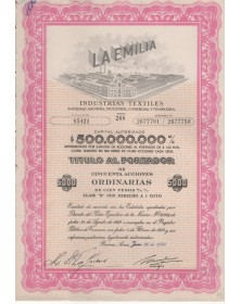 La Emilia  Industries Textiles