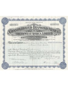 The Consolidated Diamond Mines South-West Africa Ltd.