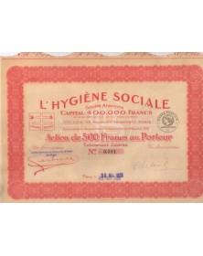 L'Hygiène Sociale