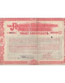 The Algoma Bondholders Joint Committee