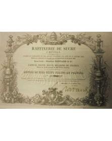 Raffinerie de Sucre à Marseille - Ch. Rostand & Cie