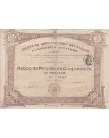 Sté de Reproductions Artistiques Iconogravure & Chimigraphie J. Boyet