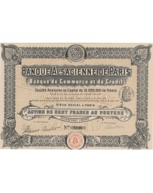 Banque Alsacienne de Paris
