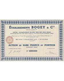Ets Bogey & Cie