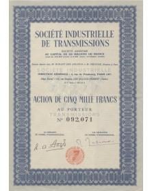 Sté Industrielle de Transmissions