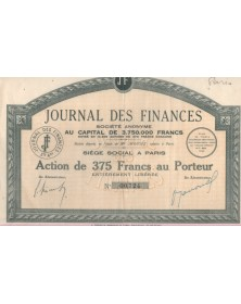 Le journal des Finances