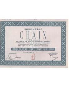 Imprimerie CHAIX