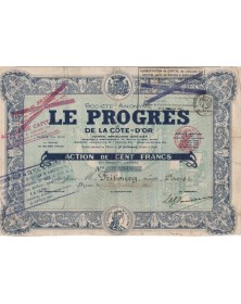 S.A. Le Progrès de la Côte-d'Or, Journal Républicain Quotidien
