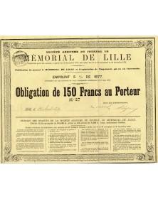 Journal du Mémorial de Lille