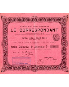 Sté de la Revue Catholique Le Correspondant