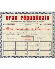 Oran Républicain (Newspaper)