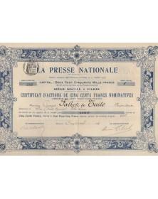 La Presse Nationale
