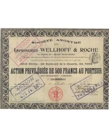 Imprimeries Wellhoff & Roche