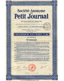 Sté du Petit Journal