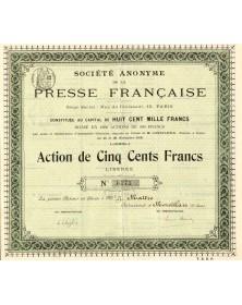 Sté de la Presse Française