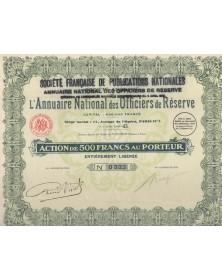 Sté Française de Publications Nationales