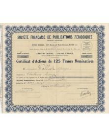 Sté Française de Publications Périodiques