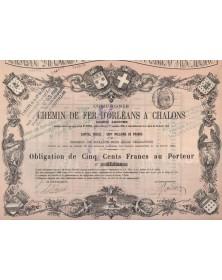 Chemin de Fer d'Orléans A Chalons