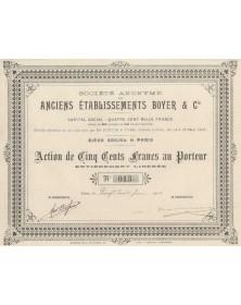 S.A. des Anciens Etablissements Boyer & Cie