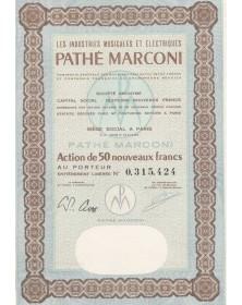 Les Industries Musicales et Electriques Pathé Marconi