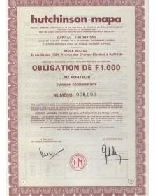 Hutchinson-mapa