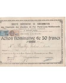 Sté Coopérative de Consommation des Employés des Chemins de Fer Paris-Lyon-Méditerranée