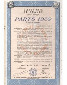 Electricité de France - Service National