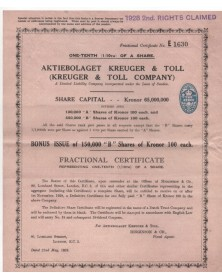 Kreuger & Toll Company