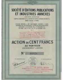 Sté d'Editions, Publications et Industries Annexes