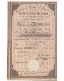 Association Mutuelle de la Garde Nationale Sédentaire