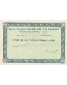 S.A. Immobilière des Paulines