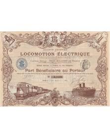 Sté de Locomotion Electrique
