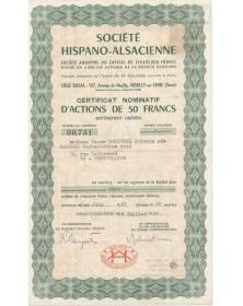 Sté Hispano-Alsacienne