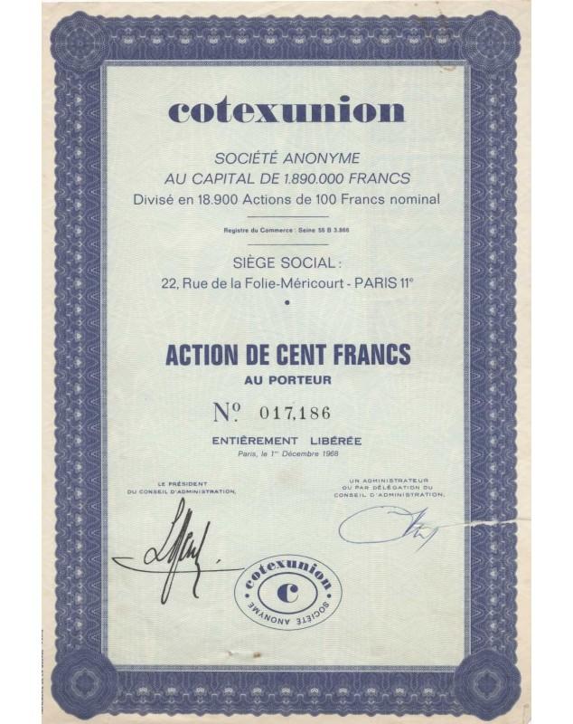 Cotexunion