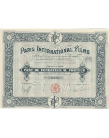 Paris International Films cinema producer