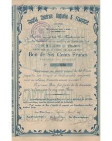 Sté Générale Anglaise & Française (Jersey)